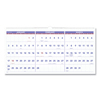 Clean and Green: Horizontal-Format Three-Month Reference Wall Calendar, 23 1/2 x 12, 2019