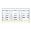 At A Glance AT-A-GLANCE® QuickNotes® Three-Month Wall Calendar in Horizontal Format AAG PM1528