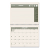 Clean and Green: Recycled Desk/Wall Calendar, 11 x 8 1/2, 2019