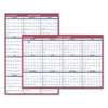 Reversible/Erasable Wall Calendars