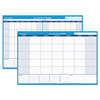 At A Glance 30/60-Day Undated Horizontal Erasable Wall Planner, 48 x 32, White/Blue, AAG PM33328