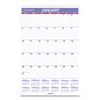 planners: AT-A-GLANCE® Monthly Wall Calendar with Ruled Daily Blocks