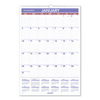 At A Glance Erasable Wall Calendar, 15.5 x 22.75, White, 2021 AAGPMLM0328