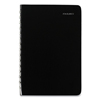 At A Glance Daily Appointment Book with Open Scheduling, 8 x 5, Black, 2021 AAGSK4600
