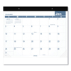 At A Glance Easy-to-Read Monthly Desk Pad, 22 x 17, Easy-to-Read, 2019 AAG SKLP2432