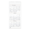 Clean and Green: Three-Month Reference Wall Calendar, 12 x 27, 2018-2020