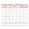 At A Glance Blush Wall Calendar, 15 x 12, 2018 AAG W1041707