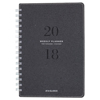 Clean and Green: Signature Collection Heather Gray Planner, 5 3/4 x 8 1/2, 2019