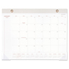 At A Glance Signature Collection Desk Pad, 22 x 17, White, 2018 AAG YP70412