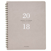 At A Glance Signature Collection Weekly/Monthly Planner, 8 3/4 x 11, Gray/Olive, 2018 AAG YP90508