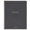 Clean and Green: Signature Collection Heather Gray Planner, 8 3/4 x 11, 2019