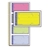 Adams Adams® Wirebound Telephone Message Book ABF SC1153RB