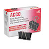 Diagnostic Accessories Nose Clips: ACCO Binder Clips