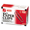Clips Clamps Rings Paper Clips: ACCO Economy Paper Clips