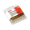 paper clips: ACCO Gold Tone Paper Clips
