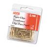 Diagnostic Accessories Nose Clips: ACCO Gold Tone Paper Clips