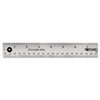 Westcott Westcott® Stainless Steel Ruler ACM 10416