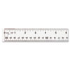 Westcott Westcott® Clear Flexible Acrylic Ruler ACM10562