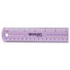 Westcott® Jeweltone Plastic Ruler
