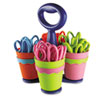 Westcott Westcott® Scissor Caddy with 24 Kids' Scissors with Microban® Protection ACM14756