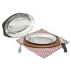 Adcraft® Sizzling Steak Platter
