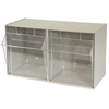 storage: Akro-Mils - TiltView™ Storage System - 2 Bin