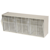 storage: Akro-Mils - TiltView™ Storage System - 3 Bin