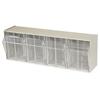 storage: Akro-Mils - TiltView™ Storage System - 4 Bin