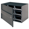 Akro-Mils 9-Drawer Storage Hardware and Craft Organizerwith Locking Door AKR 19109
