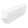 bins storage: Akro-Mils - 12 inch Clear Nesting Shelf Bin Box
