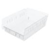 storage: Akro-Mils - 12 inch Clear Nesting Shelf Bin Box