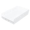 storage: Akro-Mils - 18 inch Clear Nesting Shelf Bin Box