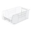 storage: Akro-Mils - 20 inch Clear Super Size AkroBins®