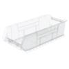 storage: Akro-Mils - 24 inch Clear Super Size AkroBins®