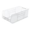 storage: Akro-Mils - 30 inch Clear Super Size AkroBins®