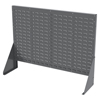 Media Organizers Media Sleeves Panels: Akro-Mils - Double-Sided Low Profile Louvered Floor Rack