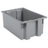 storage: Akro-Mils - 19.5 inch Nest & Stack Totes