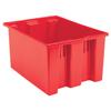 storage: Akro-Mils - 23.5 inch Nest & Stack Totes