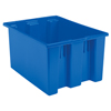 storage: Akro-Mils - 23.5 inch Nest & Stack Totes