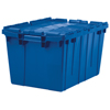 Akro-Mils Attached Lid Containers AKR 39085BLUE CS