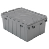 Akro-Mils Attached Lid Containers AKR 39085GREY CS