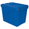 Akro-Mils Attached Lid Containers AKR 39170BLUE CS
