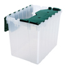 Akro-Mils KeepBox Attached Lid Container AKR 66497CLDGN CS