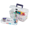 Akro-Mils 14 Plastic Art Supply Craft Storage Tool Box AKR 09514CFT CS