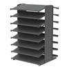 """Shelving and Storage: Akro-Mils - 18"""" Deep Pick Rack Double-Sided - 36"""" D x 36"""" W x 60"""" H"""