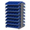 "floor racks and pick racks: Akro-Mils - 18"" Deep Pick Rack Double-Sided - 36"" D x 36"" W x 60"" H"