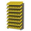 "floor racks and pick racks: Akro-Mils - 18"" Deep Pick Rack Single-Sided - 18"" D x 36"" W x 60"" H"
