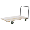 "utility carts, trucks and ladders: Akro-Mils - 27"" x 54"" Hardwood Platform Truck with Open Handle - Series 5"