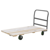 "Janitorial Carts, Trucks, and Utility Carts: Akro-Mils - 30"" x 60"" Hardwood Platform Truck with Crossbar Handle - Series 5"