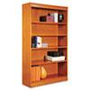 Alera Alera® Veneer Square Corner Bookcase ALE BCS56036MC